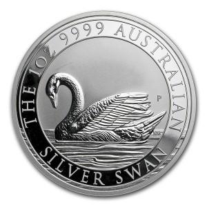 1 oz Silber Perth Mint Schwan 2017 ( diff.besteuert nach §25a UStG )