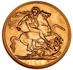 0,2354 oz Gold Sovereign ( 7,32 Gramm fein ) - div. Jahrgang