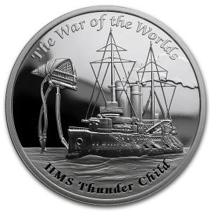 1 oz Silber Proof Perth Mint Famous Ships War of the World - max. 3000 ( inkl. gültiger gesetzl. Mwst )