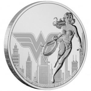 """1 oz Silber New Zealand Mint """" Wonder Woman """" 2021 max. 15.000 ( diff.besteuert nach §25a UStG )"""