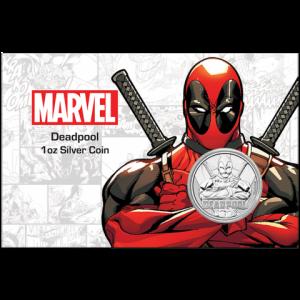 "1 oz Silber Perth Mint "" Deadpool - Marvel Comics "" in Coincard - max 1.000 ( diff.besteuert nach §25a UStG )"