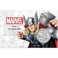 "1 oz Silber Perth Mint "" Thor - Marvel Comics "" in Coincard - max 1.000 ( diff.besteuert nach §25a UStG )"