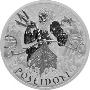 1 oz Silber Perth Mint Poseidon BU in Kapsel - max 13.500 ( diff.besteuert nach §25a UStG )