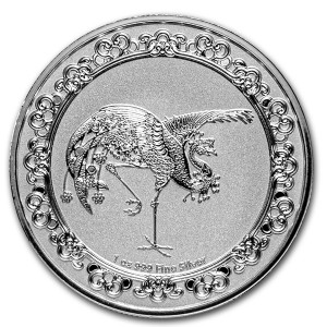 "1 oz Silber New Zealand Mint Niue "" The Red Phoenix "" 2020 ""  in Kapsel - max 10.000 ( diff.besteuert nach §25a UStG )"