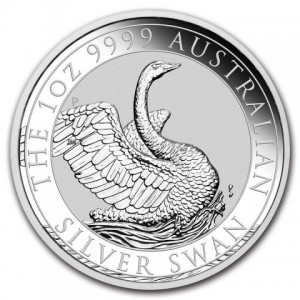 1 oz Silber Perth Mint Schwan 2020 ( diff.besteuert nach §25a UStG )