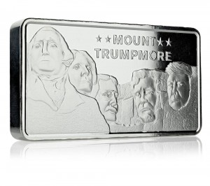 10 oz Silber Scottsdale Mint Mount Trumpmore ( inkl. gültiger gesetzl. Mwst )