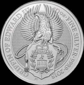 10 oz Silber Queen's Beast