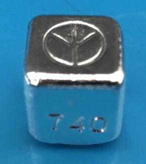 1 oz Silber Cube