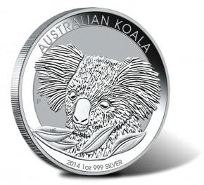 1/2 oz Silber Koala 2014 ( diff.besteuert nach §25a UStG )