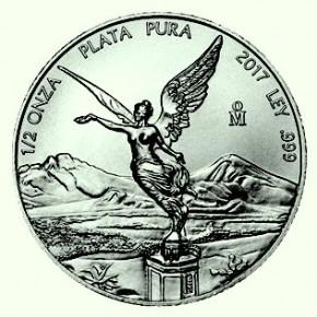 1/2 oz Silber Libertad 2017 ( diff.besteuert nach §25a UStG )