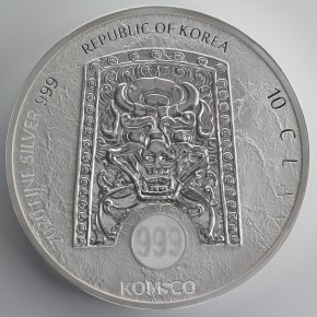 10 oz Silber Korea Chiwoo Cheonwang in Kapsel 2020 - max Auflage 300