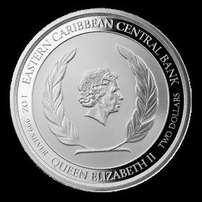 1 oz Silber Antigua & Barbuda Frigate Bird EC8 Serie 2021 ( diff.besteuert nach §25a UStG )