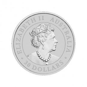 1 Kilogramm / 1000 Gramm Silber Australien Koala 2021 in Kapsel ( diff.besteuert nach §25a UStG )