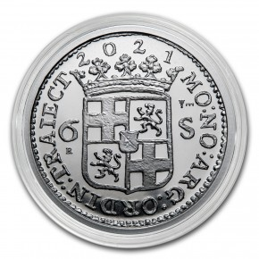 1 oz Silber Utrecht Ship Shilling - max. 10.000 ( inkl. gültiger gesetzl. Mwst )