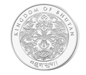 """1 oz Silber Bhutan """" Tiger 2022  """"  ( diff.besteuert nach §25a UStG )"""