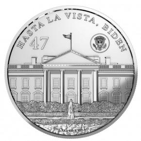 1 oz Silber BU Trumpinator 2024 Blockchain Mint ( inkl. gültiger gesetzl. Mwst )