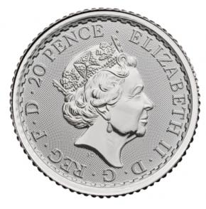 1/10 oz Silber Britannia 2020 ( diff.besteuert nach §25a UStG )