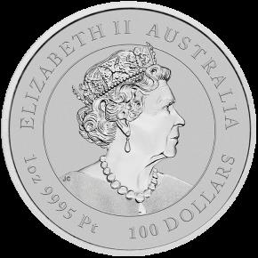 1 oz Platin Perth Mint Lunar Tiger 2022 - max 5.000 ( diff.besteuert nach §25a UStG )