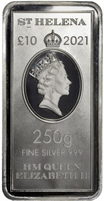 12 X 250 Gramm Silber St Helena East India Company ( diff.besteuert nach §25a UStG )