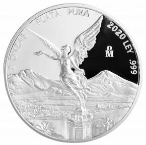 2 oz Silber Libertad Proof 2020 - max. 2800 Stück ( diff.besteuert nach §25a UStG )