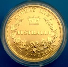 Australian Sovereign 2005 in Kapsel