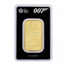 "1 oz Gold The Royal Mint "" James Bond - 007 """