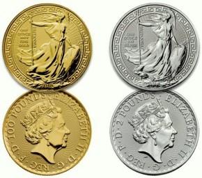 1 oz Silber Britannia