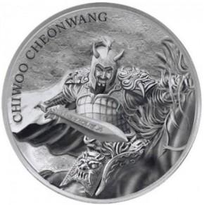 1 oz Silber Südkorea 2018