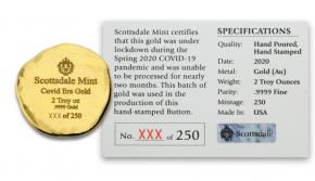 "2 oz Gold Scottsdale Mint "" Covid 19 Era "" - max. 250 Stk"