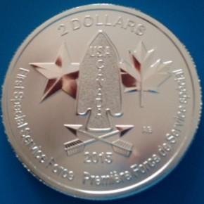 1/2 oz Silber Canada Devil's Brigade  ( diff.besteuert nach §25a UStG )