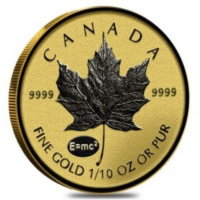1/10 oz Gold Maple Leaf Reverse Proof