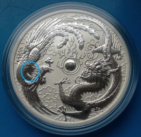 1 oz Silber Perth Mint  ERROR COIN