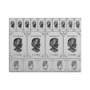 2 oz Silber Canada Flex Silber Bar ( diff.besteuert nach §25a UStG )