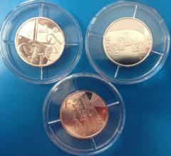 25 Euro Frankreich 2013 ( div. Motive ) in Kapsel
