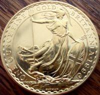 1/4 oz Gold Britannia ( div. Jahre )