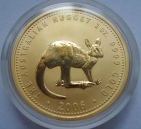 1/4 oz Gold Känguru 2006