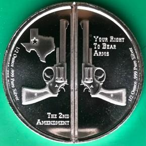 1 oz Silber Guns up America  - ( inkl. gültiger gesetzl. Mwst )