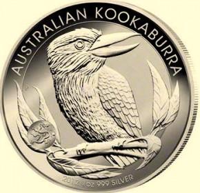 1 oz Silber Kookaburra 2012