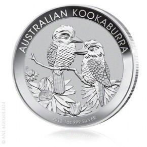 1 oz Silber Kookaburra 2013