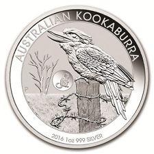 1 oz Silber Kookaburra 2016