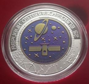 25 Euro Österreich 2015 Kosmologie ( 6,5 Gramm Niob / 9 Gramm Silber ) inkl. Box / COA / Umverpackung
