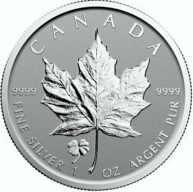 1 oz Silber Maple Leaf Reverse Proof