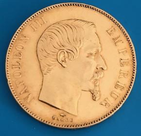 20 Francs Frankreich Napoleon ( 5,81 Gramm Gold Fein )
