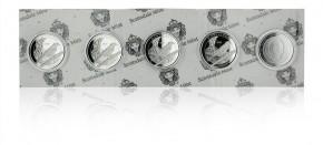 "1 oz Silber Montserrat "" Oriole "" in Kapsel 2020 - EC8 Serie ( diff.besteuert nach §25a UStG )"