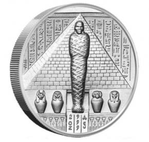 2 oz Silber Ultra High Relief Osiris ( inkl. gesetzl. Mwst )