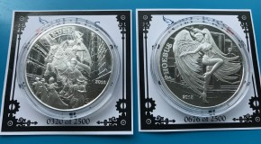 1 oz Silber Angels & Demons Steampunk Collection
