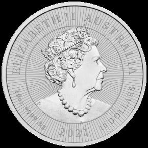 10 oz Silber Perth Mint Piedfort Platypus / Schnabeltier with Baby 2021 ' Next Generation Series - max. 2500 '  ( diff.besteuert nach §25a UStG )