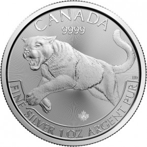 1 oz Silber Canada 2016 Predator
