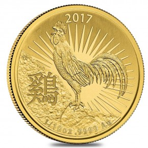 1/4 oz Gold Rooster / Hahn Royal Australien Mint in Kapsel - LZ ca. Ende Nov