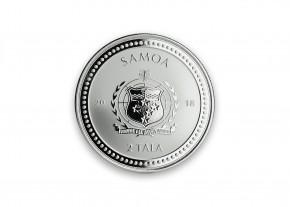 """1 oz Silber Prooflike Samoa """" Seahorse / Seepferdchen """" erste Ausgabe in Kapsel - max. Mintage 30.000 ( diff.besteuert nach §25a UStG )"""